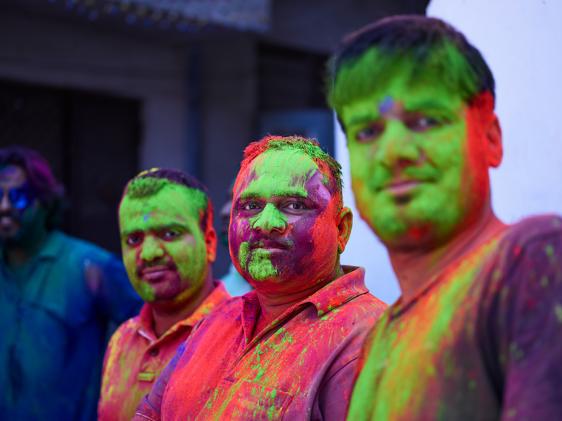 Holi Crowd