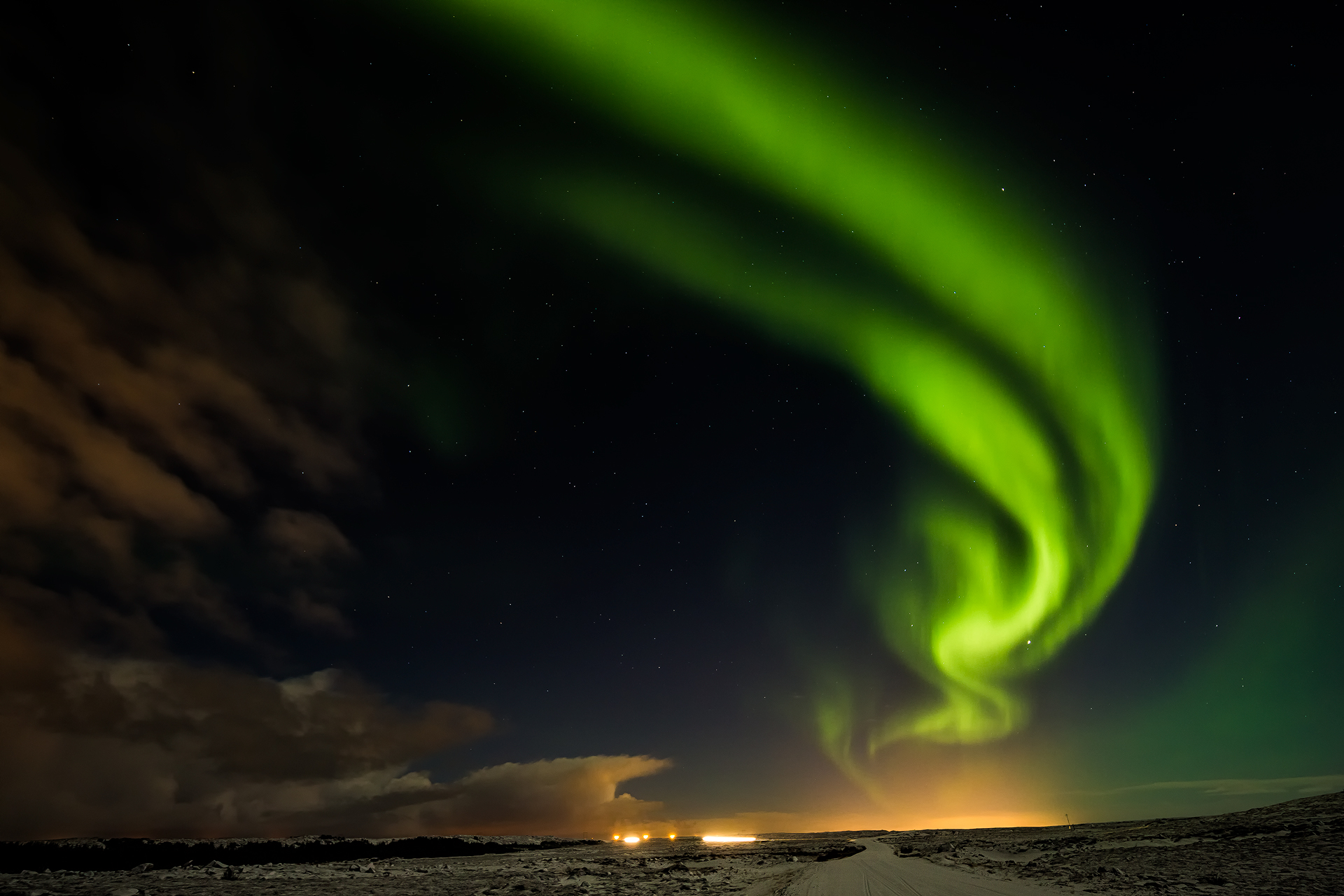 Andrei Duman Northern Lights Arc, Iceland 20
