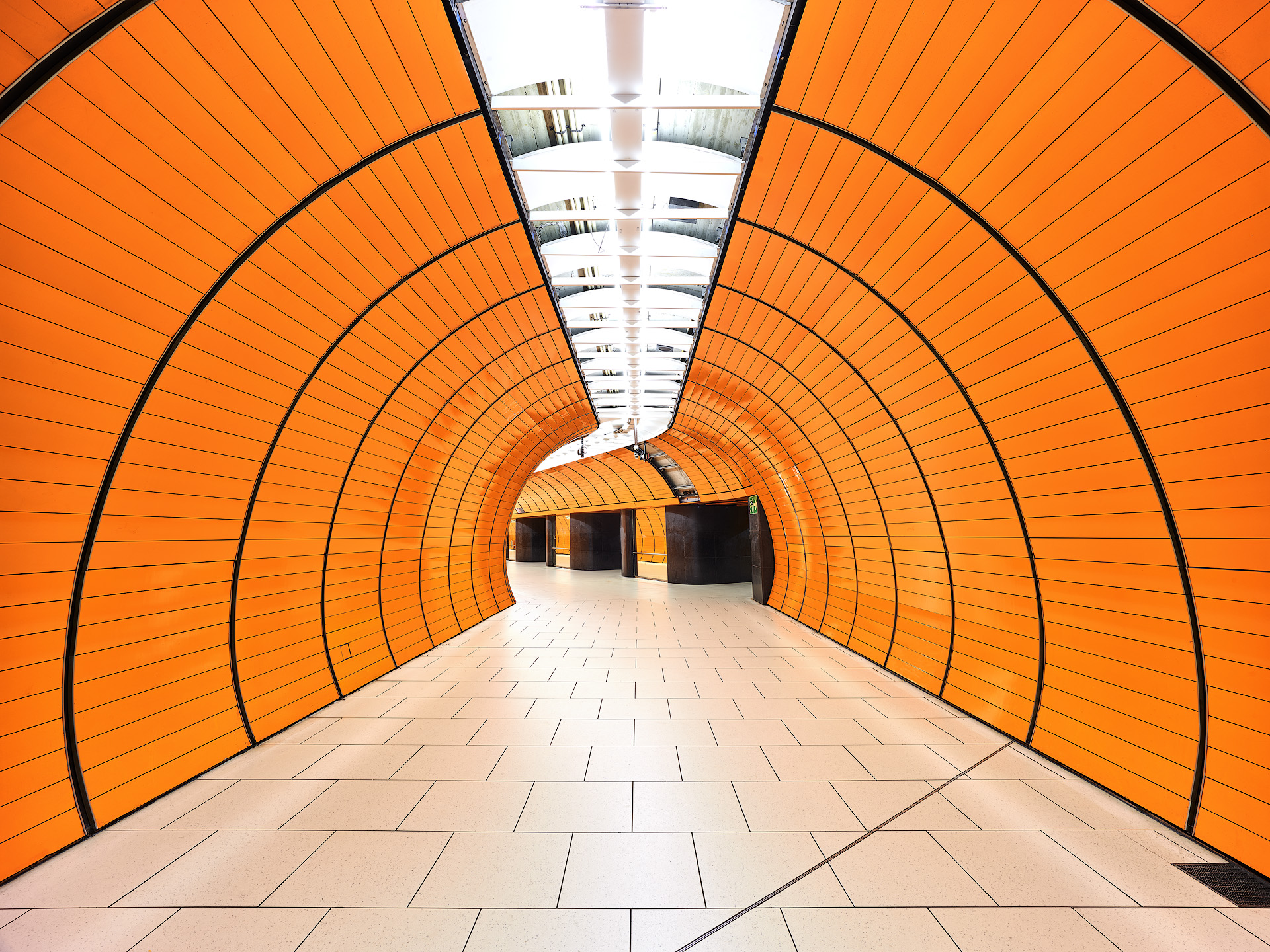 Orange Tunnel