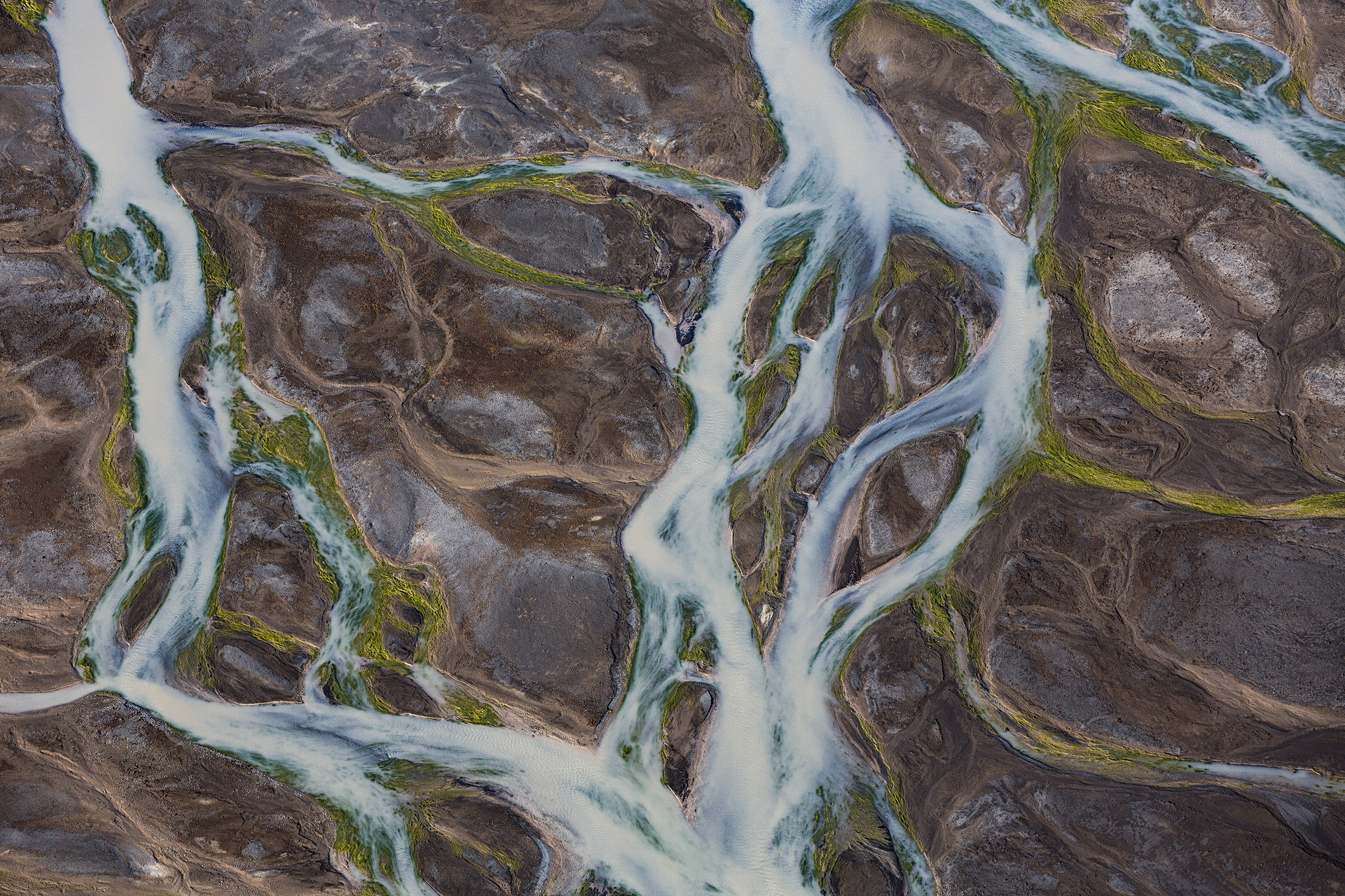 Andrei Duman River Horizontal Aerial Iceland 04