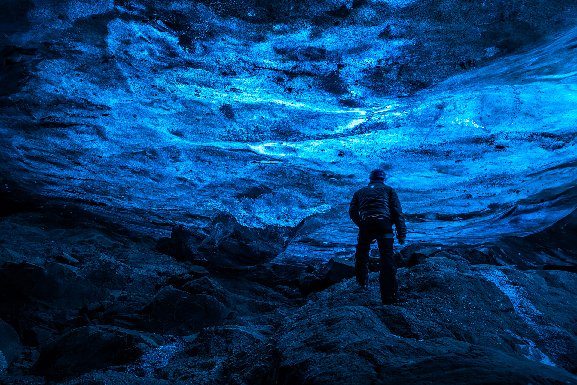 Andrei Duman Crystal Cave Interior, Iceland 26